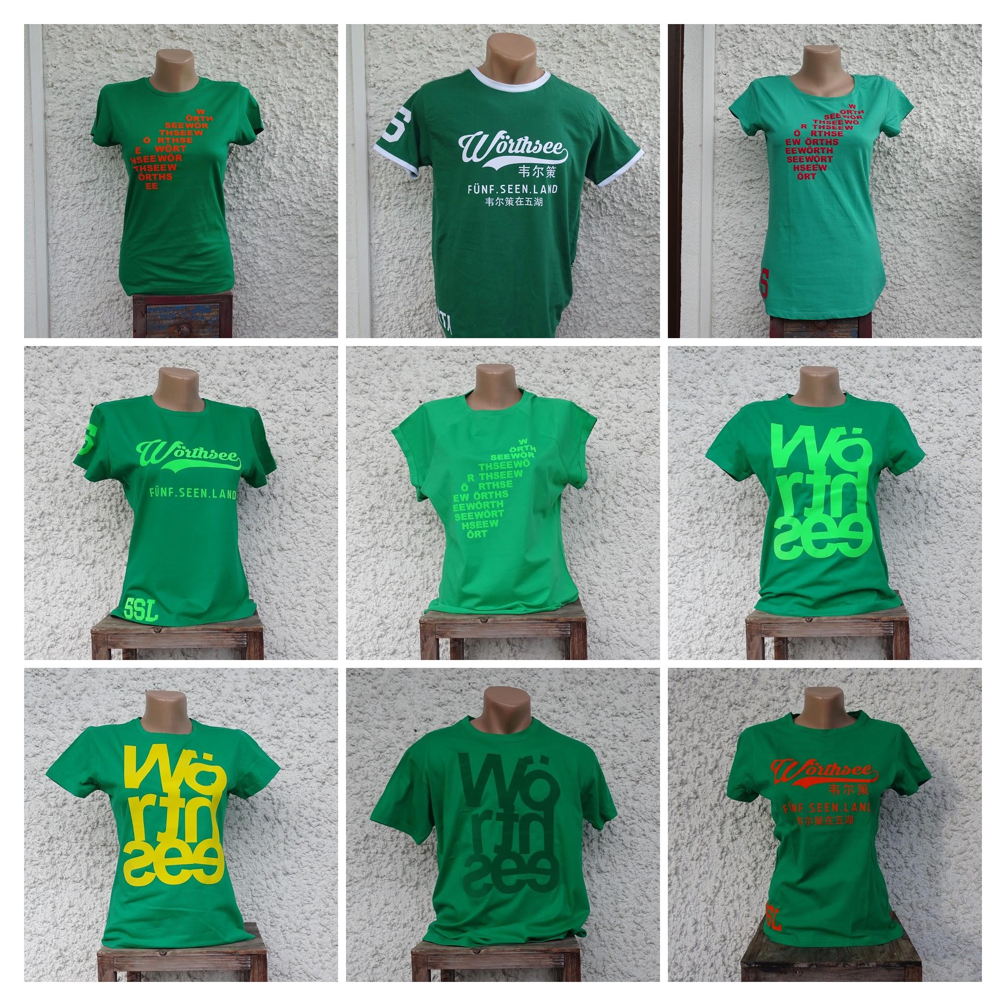 grüne Wörthsee  T-Shirts zwei Wochen lang im Angebot